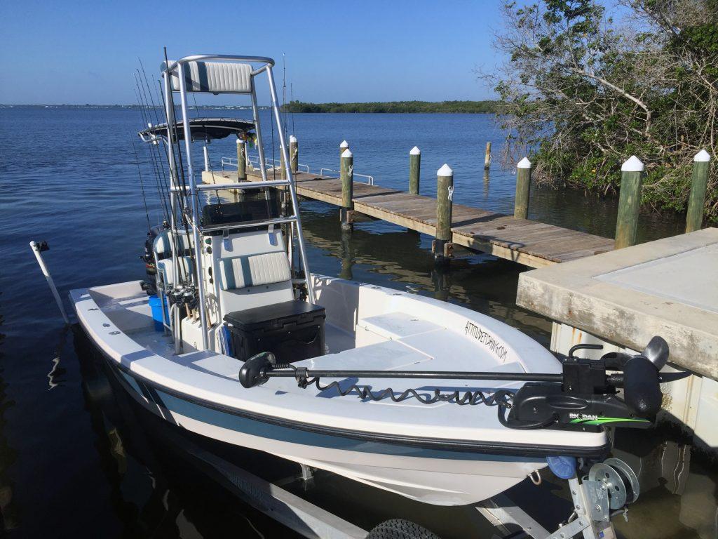 Attitude Adjustment boat and equipment